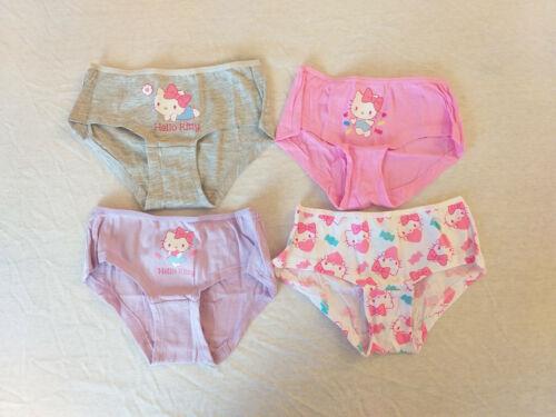 Unterhosen Mädchen Slips Hello Kitty 4er Pack