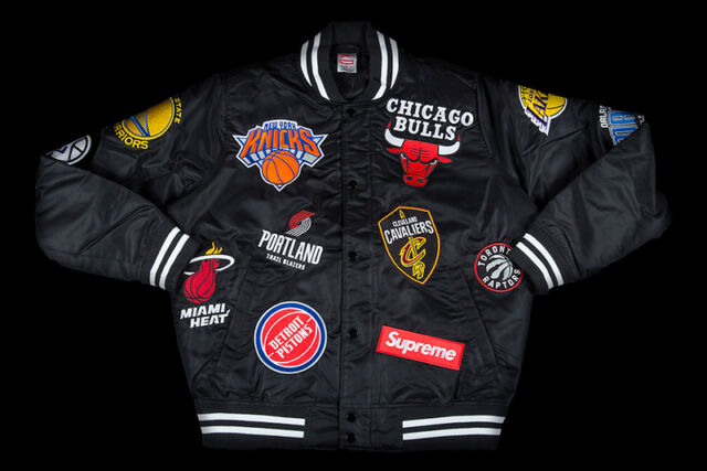manzana zoo blusa  Supreme Nike/nba Teams Warm-up Jacket Black for sale online | eBay