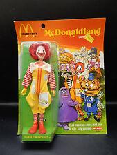 1976 vintage Remco RONALD MCDONALD action figure MOC McDonaldland McDonalds nice