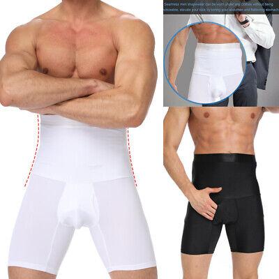 Men/'s Gym Thermo Sweat Sauna Body Shaper Pants Weight Loss Slim Shorts Underwear