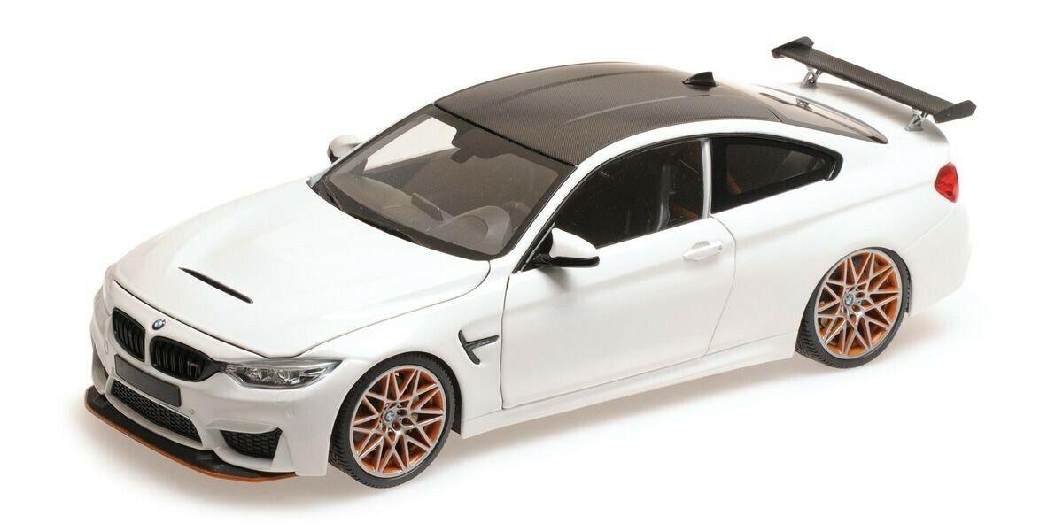 110025221 MINICHAMPS 1 18 BMW M4 GTS 2016 blanc   haute qualité
