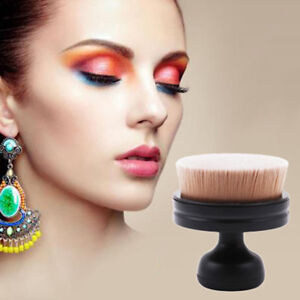 Round-Makeup-Brush-Foundation-Brush-Universal-Blush-Women-Femal-Flat-Cosmetic-LI