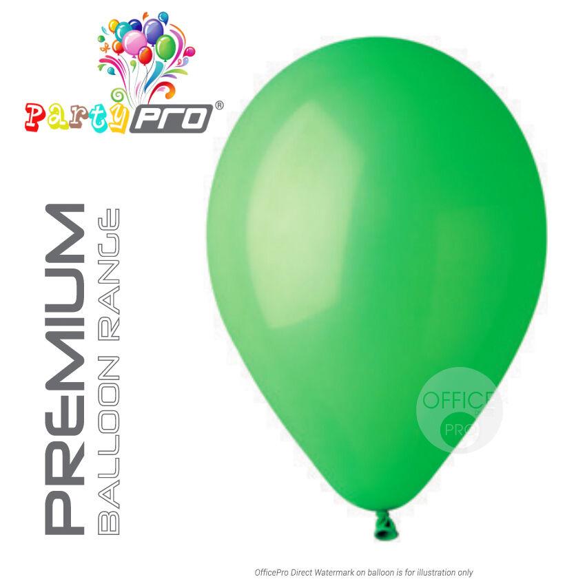 Partypro ® ® ® - verde - 10  12  Premium Lattice Palloncini Festa di Compleanno 86b9ea