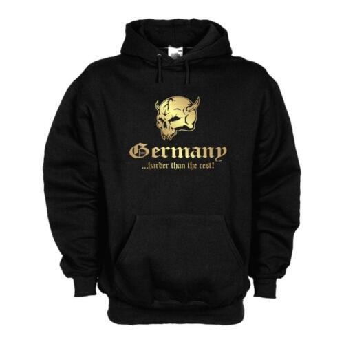 Hoodie Kapuzen Sweat Kapuzenpulli GERMANY harder than the rest WMS05-02d