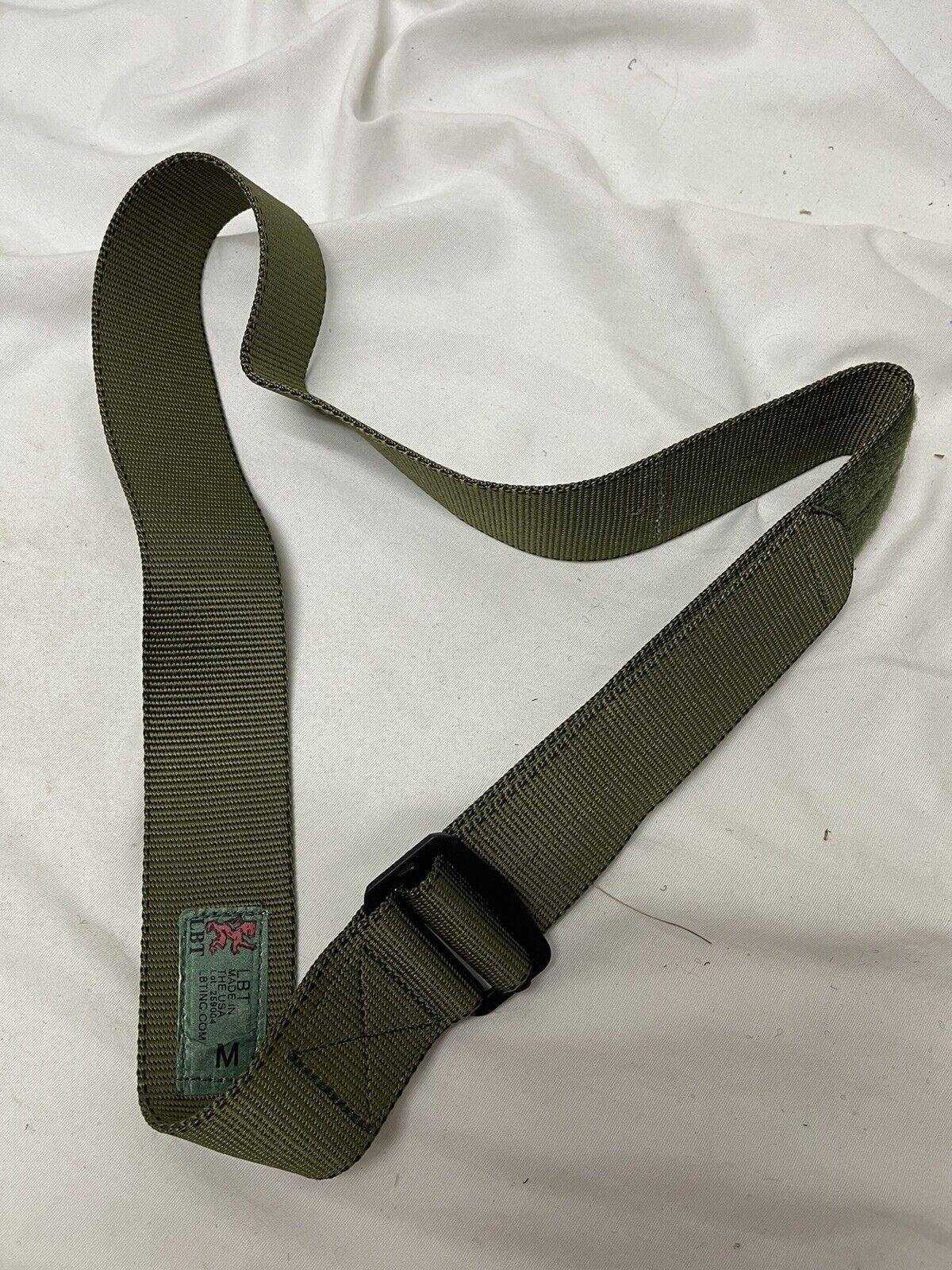 London Brücke LBT-0612C Uniform Ausleger Gürtel Olive Grau M