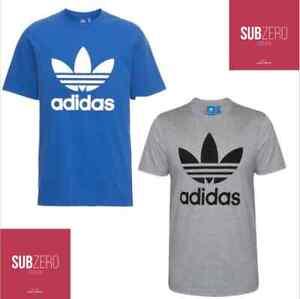 Adidas-T-Shirt-Herren-Originals-TREFOIL-LOGO-TEE-NEU
