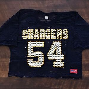 huge selection of 8d006 97d25 Details about San Diego Chargers Vintage Billy Ray Smith Jr. Sand Knit NFL  Football Jersey L