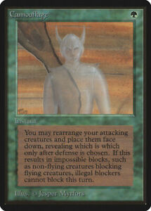 Camouflage - BETA Edition  - Old School - MTG Magic The Gathering