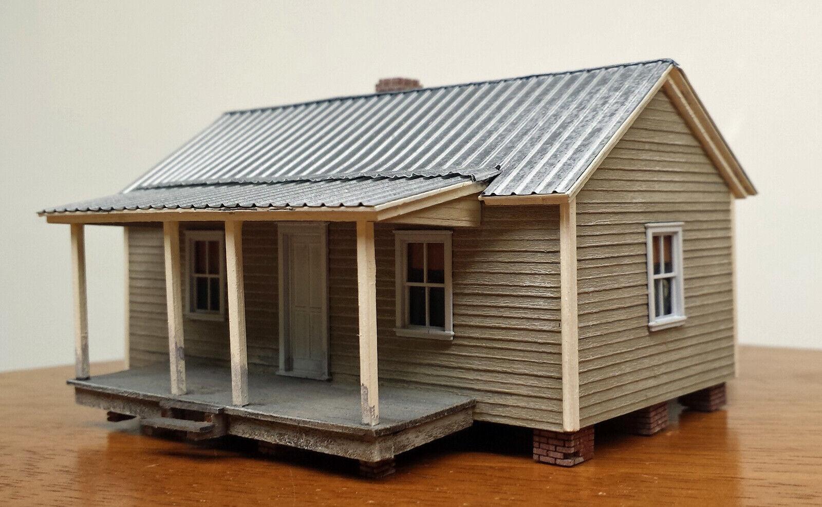 MILL COMPANY HOUSE HO HOn3 Model Railroad Unpainted Laser Wood Kit RSM1010HO