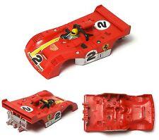 1976 Aurora AFX G-PLUS G+ HO Slot Car Ferrari 312PB RUNNER BODY 1732 Jacky Ickx