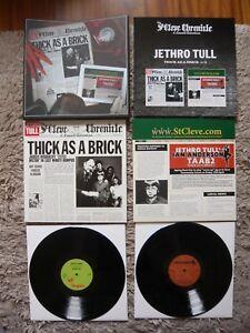 Jethro-Tull-grueso-como-un-ladrillo-1-y-2-Ian-Anderson-Vinilo-2012-Doble-LP-Box-Set-casi-como-nuevo