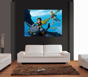 How to Train Your Dragon 2 Characters Giant Poster A0 A1 A2 A3 A4 Sizes
