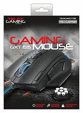 Confianza Elite Gaming Mouse gxt155, incorporado Personalizable Pesos & Memoria Incorporada