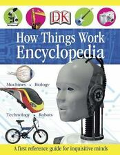 How Things Work Encyclopedia DK Publishing Books-Acceptable Condition