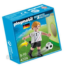 PLAYMOBIL 4729 Soccer / Football Player Germany - Sports & Action Figure
