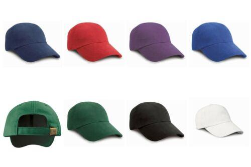 RESULT CAPS Cappie Flache Form Baseball Caps Mütze Kinder RH24J NEW