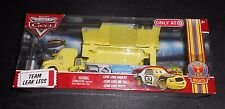 New! DISNEY Pixar Cars TEAM LEAK LESS Hauler & Pitty RARE! Personalized Signed!