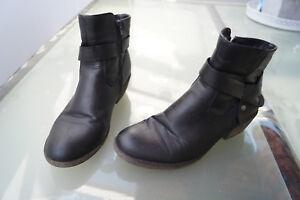 Details zu RIEKER Damen Winter Schuhe Boots Stiefel Stiefelette Gr.39 schwarz gefüttert TOP