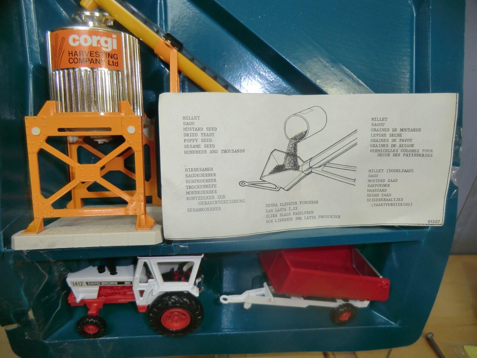 Corgi Juguetes Modelo GS.42 Set agrícola VN MIB