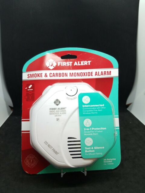 First Alert Battery Operated Smoke and Carbon Monoxide Alarm