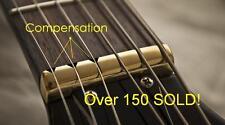 USA MADE GeetarGizmos COMPENSATED Brass Nut made for Gibson Guitar Les Paul SG..