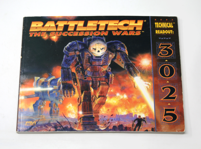 BATTLETECH THE SUCCESSION WARS Technical Readout 3025 #8603 FASA 1996