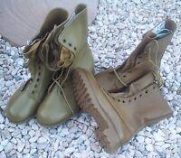 Khaki Tan G.p. Boots - Pair Ex-army Australian Surplus Stock Unissued