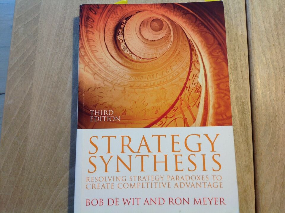 STRATEGY SYNTHESIS, BOB DE WIT AND RON MEYER, år 2010