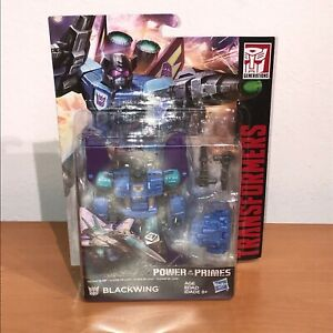 TRANSFORMERS GENERATIONS POWER OF THE PRIMES DELUXE CLASS BLACKWING NIP