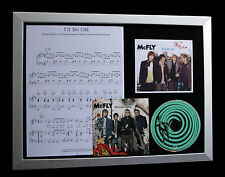 McFLY I'll Be OK GALLERY QUALITY MUSIC CD FRAMED DISPLAY+EXPRESS GLOBAL SHIP