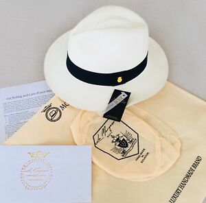 Image is loading 100-AUTHENTIC-GENUINE-PANAMA-FOLDING-QUALITY-STRAW-HAT- eef1ea01b59b