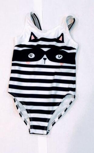 3T 4T NWT Gymboree Girl/'s Raccoon 1-piece Swimsuit Sizes 5T