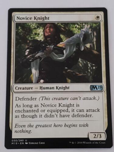 Novice Knight M19 Mtg Card Mint Condition