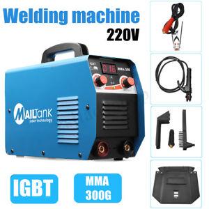 Details about 300 AMP Inverter Welding Machine Stick Welder DC With LCD  IGBTWelder Soldering