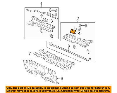 Strong Arm 4071 Trunk Lid Lift Support for 25964300 E95412 25964299 E4071 ar