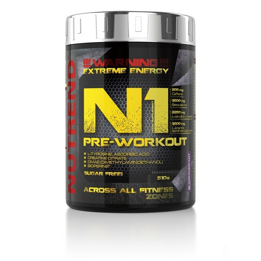 hot sale online cf9d9 84b84 Nutrend N1 Pre Strength Endurance Booster Sports Energy Powder - 510g  Workout nfidiu5214-Sports Energy  Hydration