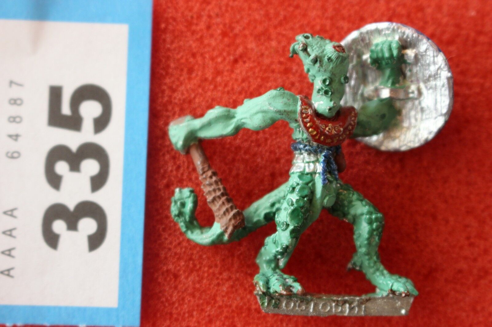 Games Workshop Citadel C24 Troglodytes Noble Troglodyte Metal OOP 1980s Fantasy