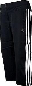 Adidas-ClimaLite-CCT-3S-WV-Woven-3-4-Trainingshose-Sporthose-Caprihose-schwarz