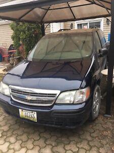2005 Chevrolet venture LS EXT passenger Van 6CYL BLUE