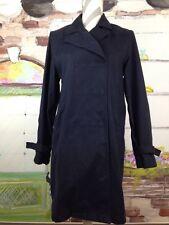 Lauren Ralph Lauren Womens Fitted Trench Coat Jacket Sz. Small Navy Blue