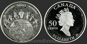 2002-Canada-Manitoba-Proof-Sterling-Silver-50-cent-Festival-Series-SALE