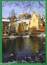 Marburg Lahn Klaus Laaser # 32 Winter Schloß Südostseite Am Grün Volksbank