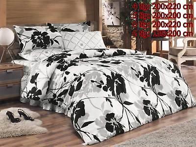 Möbel & Wohnen Beliebte Marke Bettwäsche Bettgarnitur Bettbezug 100% Baumwolle Kissen Decke Mihrace Bettwäschegarnituren