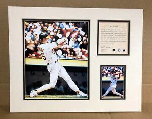 Oakland Athletics Mark McGwire 1995 Baseball 11x14 MATTED Kelly Russell Print