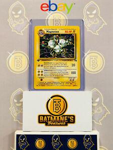 Fossil 26//62 rare Pokemon Card MAGNETON - NM//Mint