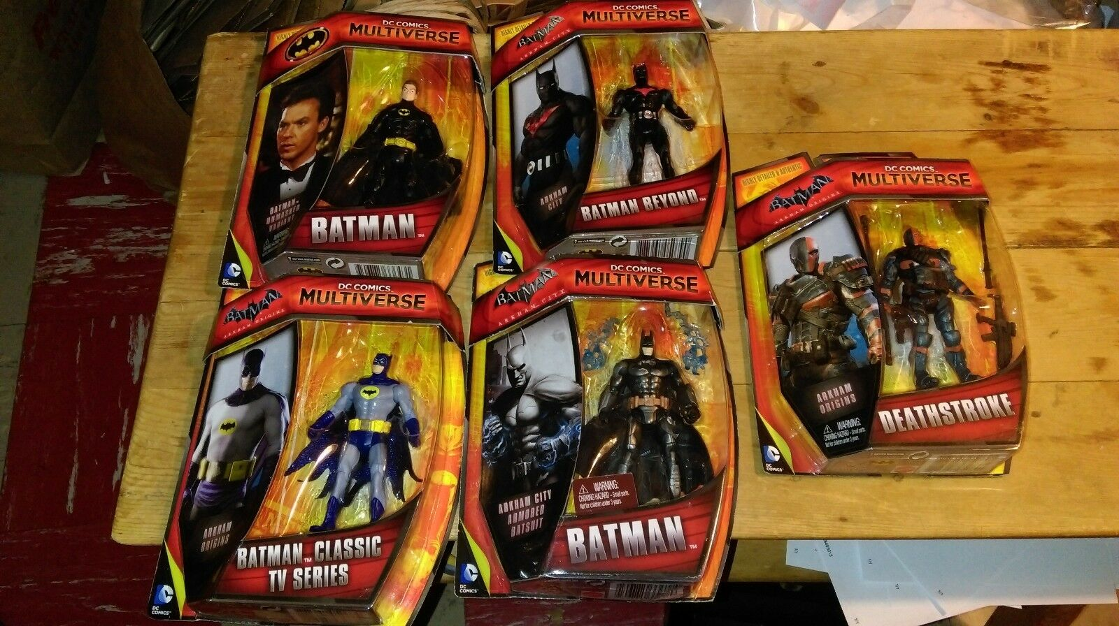 Batman arkham ber deathstroke dc multiversum entlarvt