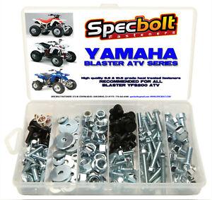 150pc YAMAHA YFZ450 ATV Bolt Kit for plastic body engine lug nuts bumper YZF 450