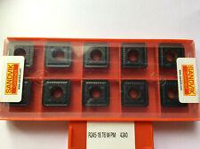 Für Stahl /&VA NEU! R245-12T3.. 10 x Fräsplatten SEET12T3-RT Mit Rechnung!!