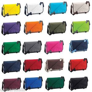 Details about Bagbase Messenger Bag Work School Dispatch Bike Office  Courier 20 Great Colours