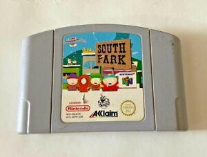 South Park-Nintendo 64 N64 Juego-solo Carro-probado/trabajo-Reino Unido PAL